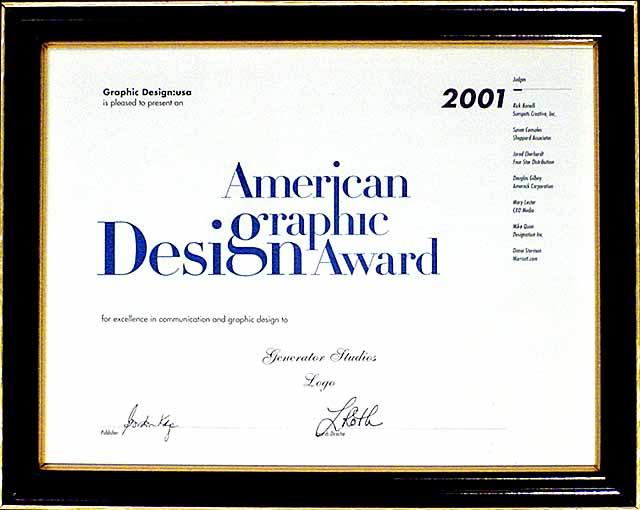generatorstudios generator awards